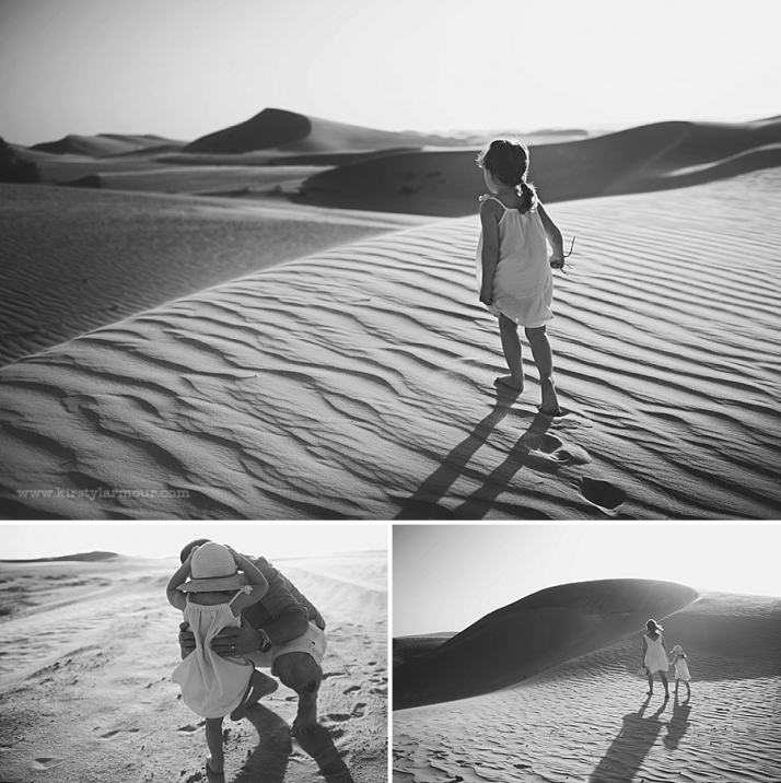 Abu Dhabi Family desert photoshoot
