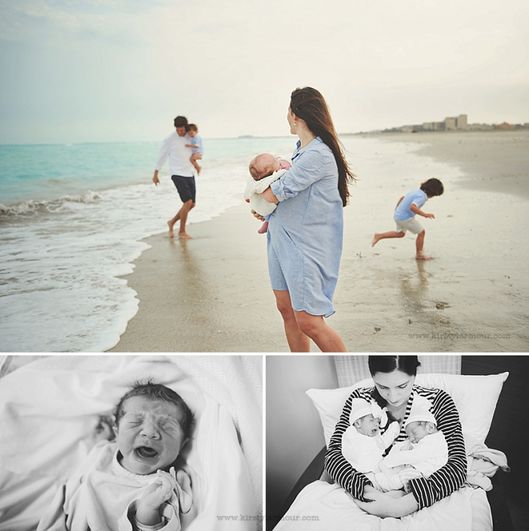 Abu Dhabi family beach photography