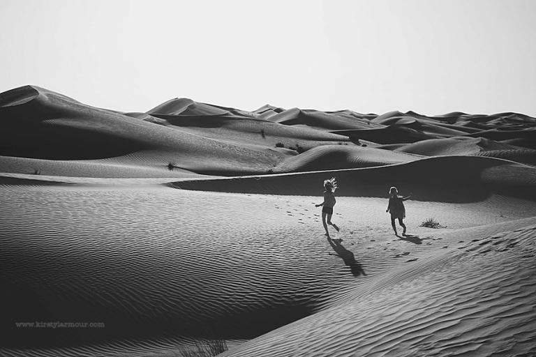 Abu Dhabi Desert Photo Shoot