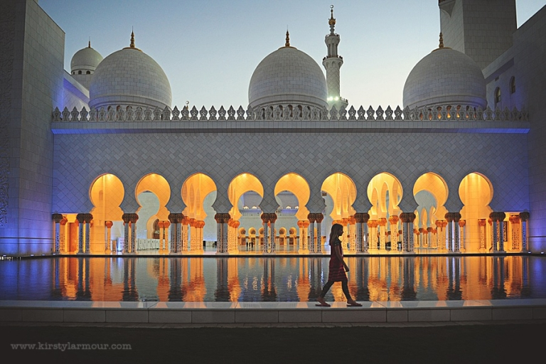 Sheikh Zayed Grand Mosque at Ramadan