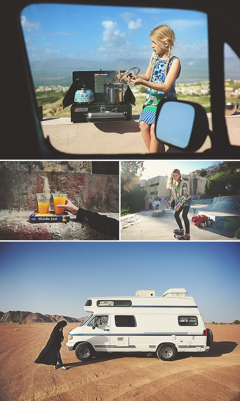 Kirsty Larmour Travel and Lifestyle Photographer - Jordan and Vanlife