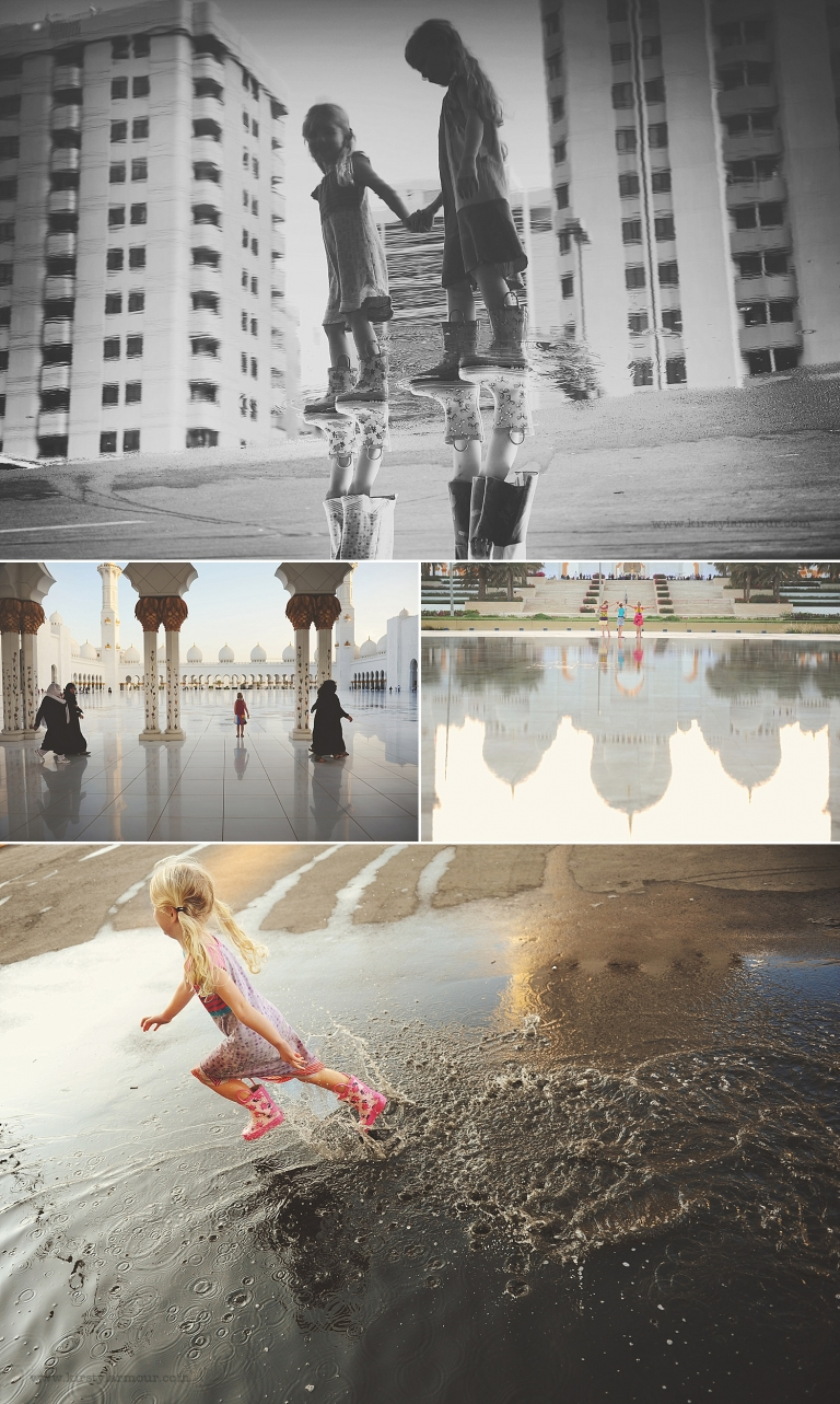 Kirsty Larmour childhood photography in urban areas around the UAE