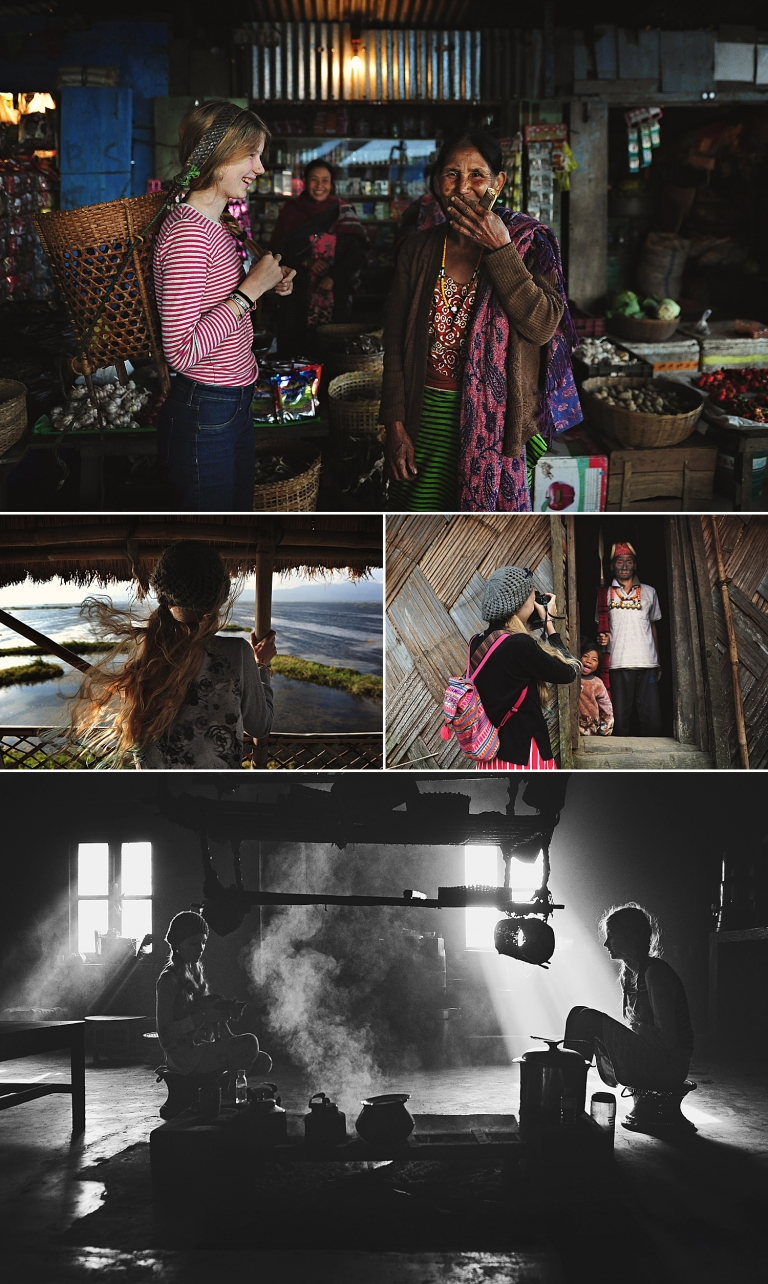 Kirsty Larmour Photography - girls meet tribal villagers in North East India, Manipur and Nagaland